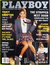 Playboy US 3/1996 March 1996 Tracy Hampton Priscilla Taylor DeDe Lind