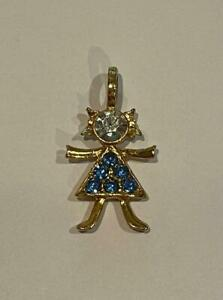 """K.I.S. Birthstone Brats 1"""" Boy or Girl Crystal Charms Or 30"""" Necklace Or Spacers"""