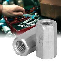 10Pcs Long Rod Nut Hex Hexagonal Sleeve Nut Standoff Threaded Fasteners Kit Set