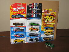 Hot Wheels Lot of 12 '70 Ford Mustang Mach 1 Variation Classics Since 68 Decades