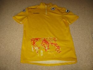 Tour de France 1989 - Mario Schifano Castelli Leaders Italian cycling jersey M