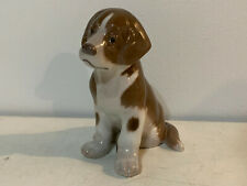 Bing & Grondahl Porcelain St. Bernard Puppy Dog Figurine 1926 Niels Nielsen