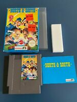 North & South - NES NINTENDO GAME- complete in box - Very rare, Great condition