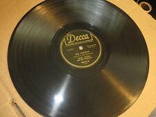 78RPM Decca 48114 Cecil Payne, be-bop Jazz, No Chops E- / Hippy DIppy sharp E E-