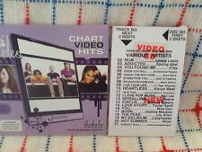 VCD VIDEO CD FRAY SNOW PATROL TAYLOR SWIFT SPEARS KANYE WEST LADYHAWKE MAUBOY