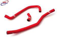 AS3 PERFORMANCE SILICONE RADIATOR HOSES RED - YAMAHA YFM 700 R RAPTOR 2006-2020