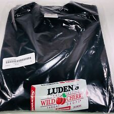 Supreme Luden's Tee Wild Cherry Throat Drops Black Graphic Shirt Size XL Fw18t44