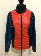 CULT VINTAGE '70 Giubbotto Donna Sci Bicolor Sky Woman Jacket Sz.M - 44