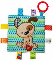 Taggies CRINKLE ME DOG Baby Comforter Blanket Soft Toys Activities BN