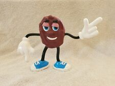 Vintage 1987 California Raisin Blue Shoes Poseable Bendy Figure Collectible Big