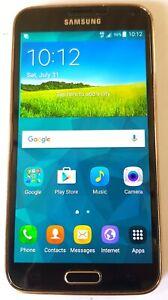 Used - Samsung Galaxy S5  model SM-G900F - 16GB - Golden (Unlocked) Smartphone