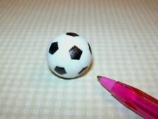 Miniature Resin Soccer Ball: DOLLHOUSE Miniatures 1/12 Toys Sports
