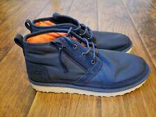 UGG Australia Neumel Zip MLT 1102430 Navy Blue Boots Men's Size 12.