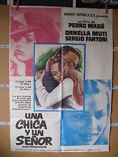 A3353 Una chica y un señor Ornella Muti, Sergio Fantoni, Eduardo Fajardo, Emilio