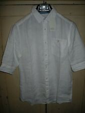 Esprit EDC Linen Shirt in White, Small, BNWT