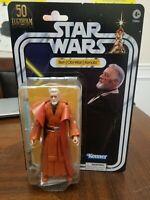 "Star Wars Black Series 6"" Obi Wan Kenobi Amazon Exclusive Figure IN HAND MIB"