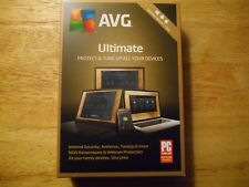 AVG Ultimate * Unlimited Devices 1 Year  * Automatic Updates