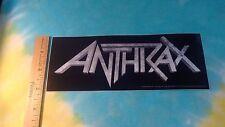 Anthrax Logo 3 x 8 Inch Sticker