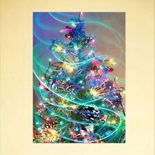 DIY 5D Full Diamond Christmas Tree Painting Embroidery Cross Stitch Home Decor
