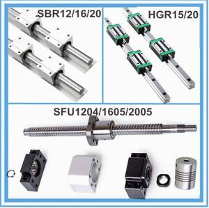 SFU1605 SFU1204 SBR12 SBR20 SBR16  Guida lineare Vite a Ricircolo di Sfere CNC