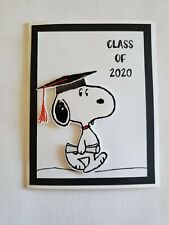 Snoopy Class Of 2020 Graduation Greeting Card