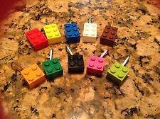 Mixed Lot Of 10 Pcs 2x3 2x2 Zip Pulls Backpack Favors Prizes Assorted Colors