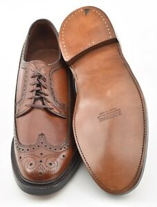 NEW OLD STOCK w V CLEAT | BOSTONIAN 12D LONGWING DRESS SHOES HANOVER