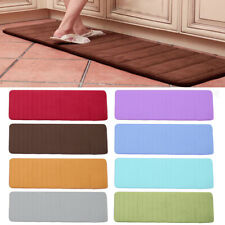 160x50CM Large Microfibre Memory Foam Bathroom Bath Mat Anti Slip Absorbent Rug