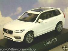 EXCELLENT NOREV 1/43 DIECAST 2015 VOLVO XC90 IN CRISTAL WHITE METALLIC 870050