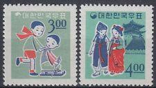 Korea-Süd 1965 ** Mi.515/16 Weihnachten Christmas Neujahr New Year [st0835]