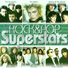 Rock Pop Superstars Stranglers, Kim Wilde, Katrina & the Waves, Whitesn.. [2 CD]
