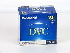 NEW Panasonic AY-DVM60EJ Mini DV Tapes 60min SP / 90min LP Pack Of 5