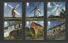 GB 2017 Windmills and Watermills Stamps MNH