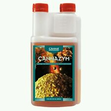 CANNA CANNAZYM 1 LITRE HYDROPONIC ROOT CONDITIONER FOR ALL MEDIUMS LATEST DATE