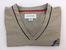 Force 3 Cutter & Buck Short Sleeve Golf Windbreaker Jacket XL/TG Tan