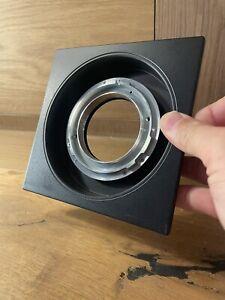 *Rare Mamiya RB67 RZ67 Mount : Mint* Horseman Sinar Recessed 140x140 Lens Board