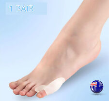 1 Pair Foot Little Toe Pain Relief Comfy Soft Silicone Gel Protector Separator
