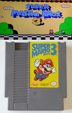 Super Mario 3 - Nintendo Video Game - Tested & Working - NES