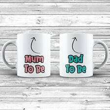 Mum To Be And Dad To Be Mug Gift Set Birth Announcement