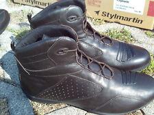 Stylmartin Newport High Moto Court Bottes Chaussures De Loisirs Sneaker Taille 38
