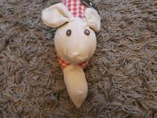 Samuel Lamount Group Red & White Gingham Rabbit Door Draught