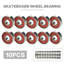 US 10x Engineering Skateboard Roller Skate Wheels Scooter Spare Bearings New