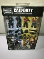 Mega Construx COD Call Of Duty SPECIAL FORCES vs SUBMARINERS #GFW67 Set NEW!