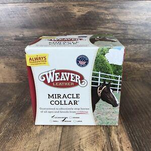 Weaver Leather Miracle Collar Medium Golden Brown