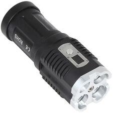 2800LM 4 x CREE XM-L2 U2-1A LED Waterproof LED Power Digital Torch Flashlight