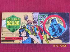 RACCOLTINA A STRISCIA N° 24 MIKI E BLEK COLLANA SCUDO DARDO 1967/1970 ALTERNATA