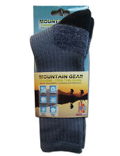 Mountain Gear Thermal & Wool, Warm, Heat Trek & Army fits Socks for Cold Whether