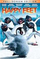 Happy Feet (DVD, 2007, Full Frame) Brand New