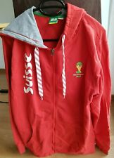 Suisse, Schweiz , Jacket men, FIFA World Cup 2014 Brasil, red/ white, size L