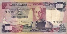 BILLET BANQUE ANGOLA 1000 escudos 1972 état voir scan 567